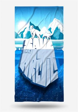 Πετσέτα Θαλάσσης Arctic John Frank