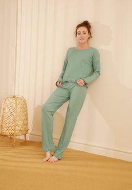 Φορμα Γυναικεια Pistachio Comfort Dream