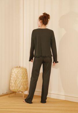 Φορμα Γυναικεια Olive Color Comfort Dream