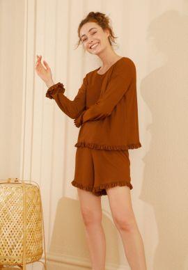 Φορμα Γυναικεια Με Σορτσακι Bronze Comfort