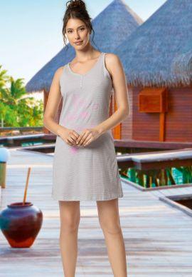Φορεμα Γυναικειο Αμανικο Γκρι