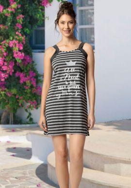 Φορεμα Γυναικειο Αμανικο Ριγε