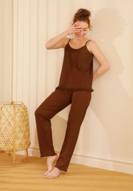 Φορμα Γυναικεια Με Τιραντα Bronze Comfort