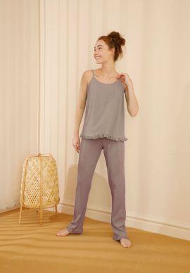 Φορμα Γυναικεια Με Τιραντα Soft Beige Comfort