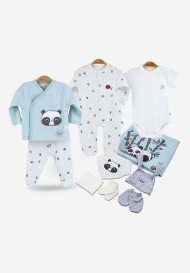 Σετ Προικα Μωρου Biorganic Panda Boy