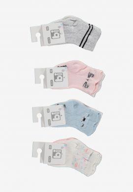 Καλτσακια Βρεφικα Bi Baby So Cute Pack
