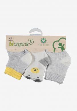 Καλτσακια Βρεφικα Biorganic Cotton Colors Pack