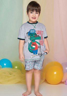 Πιτζαμα Παιδικη - Εφηβικη Crocodile Sevim