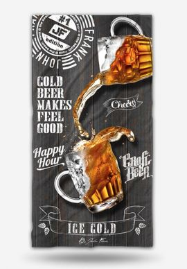 Πετσέτα Θαλάσσης Beer John Frank