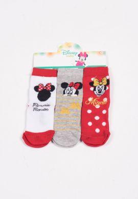 Καλτσακια Disney Minnie Τριπλετες