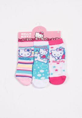Καλτσακια Hello Kitty Τριπλετες