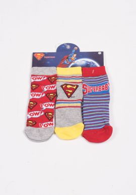 Καλτσακια Superman Τριπλετες