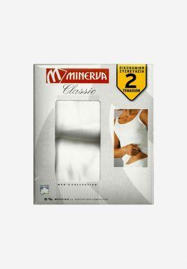 Φανελακι Ανδρικο Αμανικο Minerva 2Packs
