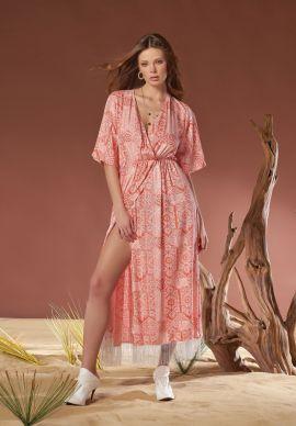 Φορεμα Αερινο Με Κροσια Sevim