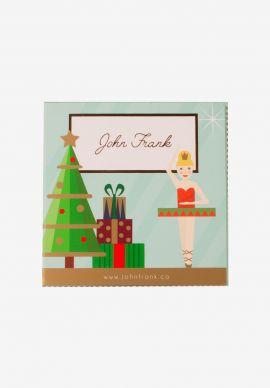 Hipster Christmas Penguin John Frank