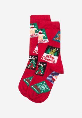 Καλτσα Γυναικεια Christmas Cards John Frank