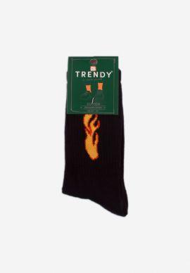 Καλτσα Εφηβικη Trendy Flames