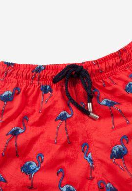 Μαγιο Παιδικο John Frank Blue Flamingo