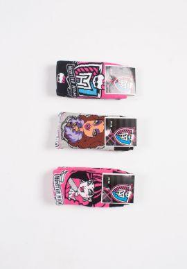 Καλτσες Παιδικες Με Ταπες Monster High 12 Τεμ.