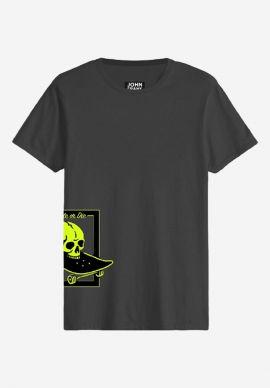 T-Shirt John Frank Skate Skull