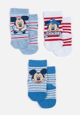 Καλτσακια Disney Mickey Τριπλετες