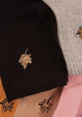 Καλτσες Ημίκοντες  Γυναικειες Leafy Pack