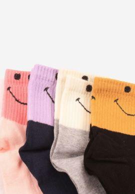 Καλτσες Ημίκοντες  Γυναικειες Smiley  Pack