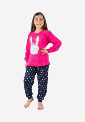 Πιτζαμα Παιδικη Rabbit Nina Club